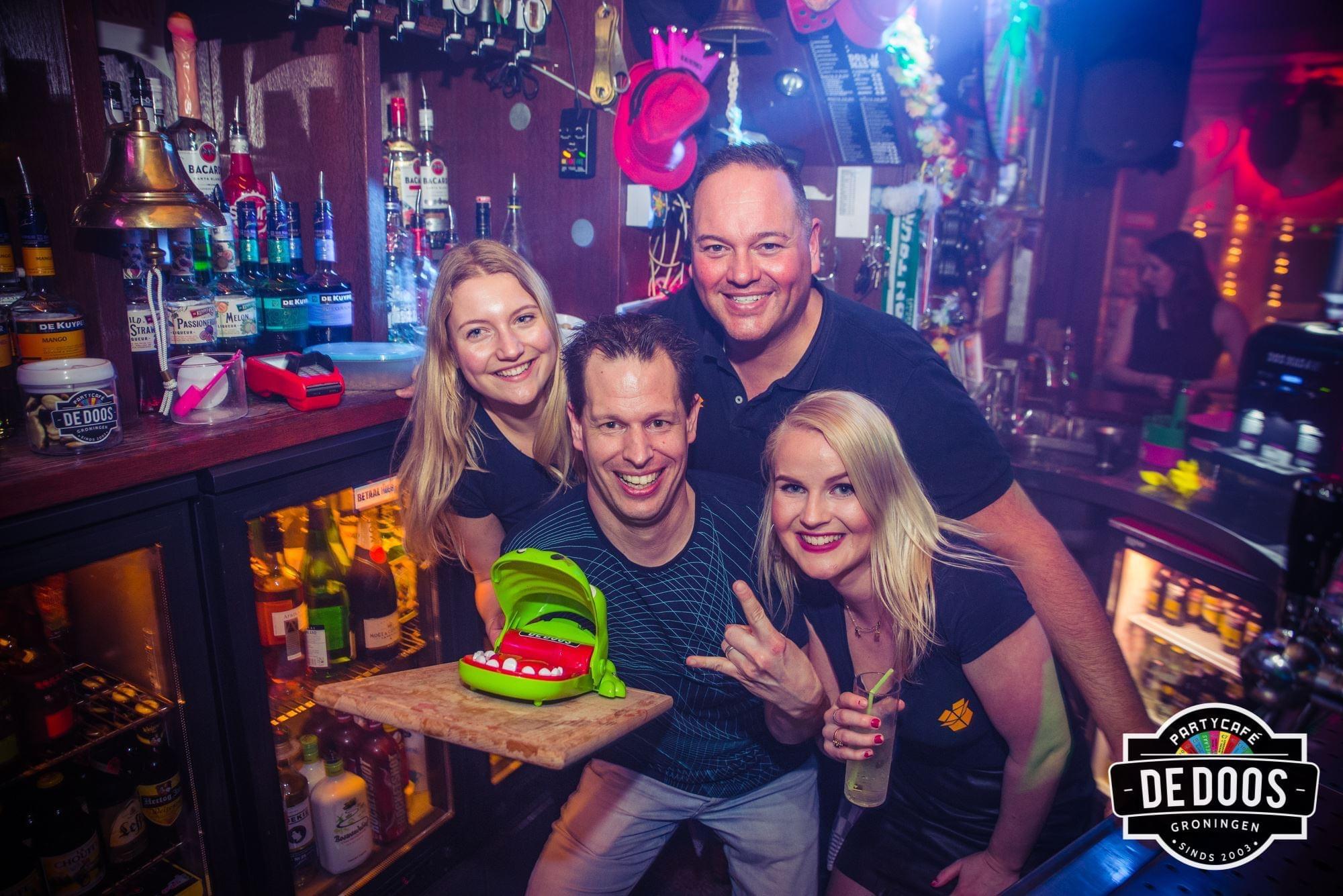 Borrel geven in Groningen - Café de Doos